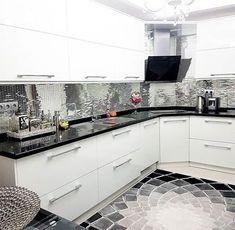 Modern stilde, göz alıcı. Sevim hanımın mutfağı!