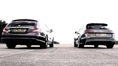 Chris Harris pits the Audi RS6 Avant against the Mercedes-Benz CLS 63 AMG. There is no loser here, only brilliance.
