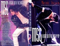 MJ 30th Anniversary show at MSG