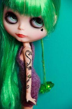I'm green & bohem!   :D