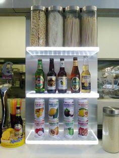 Nuevo soporte decorativo para #Bebidas y #Noodles en PadthaiWok Fuengirola