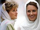 Evoking memories of Diana: Kate makes first visit to mosque - and wears veil and attire like her mother-in-law wore 20 years earlier    Read more: http://www.dailymail.co.uk/news/article-2203059/Kate-Middleton-makes-visit-mosque--wears-veil-attire-like-Princess-Diana-did.html#ixzz26S8bPwTw