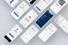 Ознакомьтесь с этим проектом @Behance: «CryptoCamp Mobile UI Kit» https://www.behance.net/gallery/65849439/CryptoCamp-Mobile-UI-Kit
