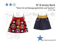 Schnittmuster (ebook) *Jersey Rock (Gr. 92-128)* von artixign auf DaWanda.com