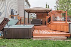 Deck, Patio, Outdoor Decor, Home Decor, Homemade Home Decor, Yard, Terrace, Front Porches, Decks