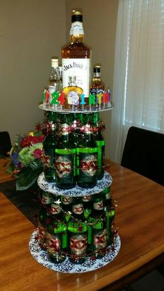 Dos equis beer cake for Christophers 24th birthday 7.11 baby!! #dosequis