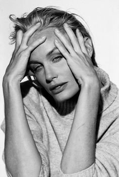 Daryl Hannah as Elle Driver alias California Mountain Snake in Kill Bill Daryl Hannah, Peter Lindbergh, Carolyn Bessette Kennedy, Black And White People, Annie Leibovitz, Famous Photographers, Portraits, Interesting Faces, Black And White Photography