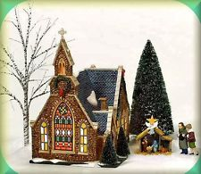 Church Of The Holy Light set6 NEW Department Dept. 56 Christmas In The City CIC