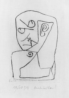 Paul Klee. durchhalten!. 1940