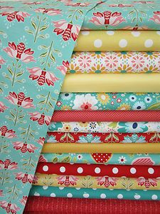 Riley Blake fabrics: these would make a beautiful quilt!