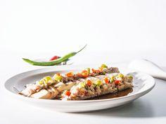金針菇豉油蒸豆腐