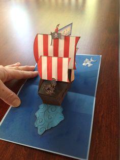 Pirate ship pop up archer 2015