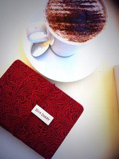 Coffee & planning!