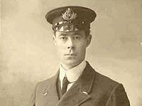 Harold Godfrey Lowe, Fifth Officer of Titanic. (November 21,1882-May 12,1944). He was the officer who brought his lifeboat back to rescue survivors.