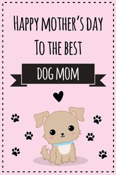 Happy Dog Mothers Day, Happy Mother Day Quotes, Mother Day Wishes, Happy Birthday Wishes Cards, Happy Mother's Day Card, Mom Cards, Mothers Day Cards, Mother's Day Background, Birthday In Heaven