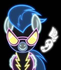 Neon Shadowbolt by ~ZantyARZ on deviantART