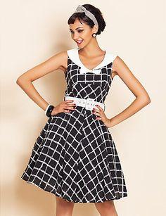 collezione-vestiti-anni-50-donna-abito-quadri-light-in-the-box 4cd33a020cb