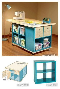 35 Amazing Craft Room Storage and Organization Furniture Ideas. 35 Amazing Craft Room Storage and Organization Furniture Ideas. 35 Amazing Craft Room Storage and Organization Furniture Ideas Craft Room Storage, Sewing Room Storage, Sewing Room Organization, Sewing Rooms, Storage Ideas, Organization Ideas, Gun Storage, Laundry Storage, Water Storage
