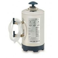 Depuradores de agua manuales con cierre de seguridad y llave de rosca.