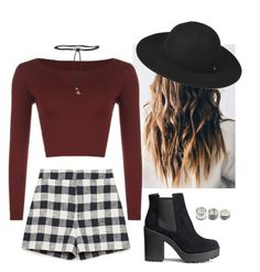 Plaid| by babylaci on Polyvore featuring polyvore, fashion, style, WearAll, Zara, H&M, Aamaya by Priyanka, Whistles and clothing