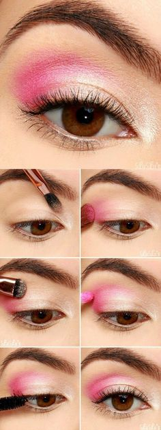 Pretty Pink Eyeshadow Tutorial Step by Step | Blog LuLu*s