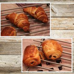 Croissants et/ou pains chocolat de Mr felder avec mon cooky expert!   Emilie cuisine et papote !
