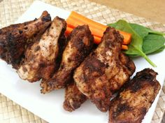 Spicy Chicken Wings Recipe from Nourish Paleo Foods Chicken Wings Spicy, Chicken Wing Recipes, Marinated Chicken, Paleo Recipes, Whole Food Recipes, Cooking Recipes, Paleo Food, Free Recipes, Paleo Ideas