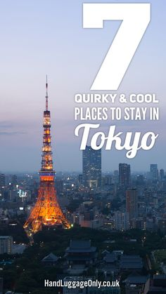 7 Quirky and Cool Places To Stay In Tokyo, Japan (1)