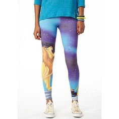 LAST DAY SALE Lion King Galaxy Disney leggings  Size xsmall but they stretch out. Super soft texture, basically brand new only worn a couple times. The picture goes all the ways around the legs Disney Pants Leggings