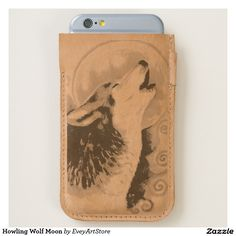 Howling Wolf Moon iPhone 6/6S Case