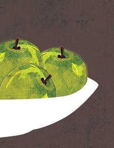 apples in bowl
