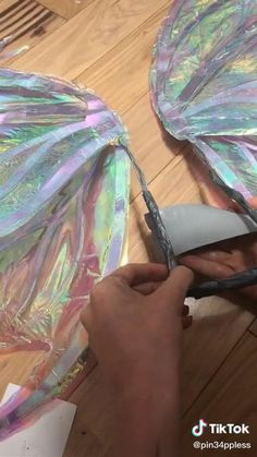 Diy Crafts Hacks, Diy Crafts For Gifts, Cute Crafts, Fairy Costume Diy, Fairy Wings Costume, Fashion Sewing, Diy Fashion, Diy Fairy Wings, Cosplay Diy