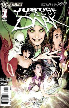 Justice League Dark comic book cover