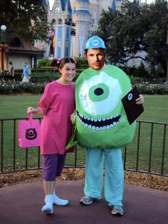 costume Adult monster inc