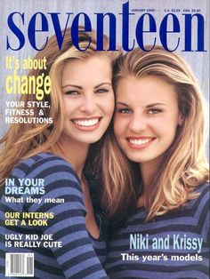 Seventeen magazine! I remember this issue! I idolized Niki Taylor back then!