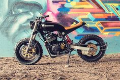 1994 Honda XR600 by Ozz Customs - an awesome street tracker