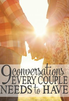 9 Conversations Every Couple Needs to Have | Better Marriage Communication Good Marriage, Strong Marriage, Strong Relationship, Healthy Marriage, Happy Relationships, Marriage And Family, Happy Marriage, Marriage Relationship, Funny Marriage Advice