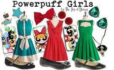 """Powerpuff Girls (Cartoon Networks)"" by thejoyofdisney ❤ liked on Polyvore"