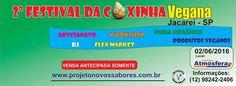 Jacareí: 2º Festival da Coxinha Vegana  2 de junho  Site do evento: www.facebook.com/events/1699156933684840   #veganismo  #eventovegano  #govegan #veganismoBrasil  #veganismobr #semcrueldade  #zeroleite #zerolactose #aplv #semlactose #intolerâncialactose #lactosenao #lactosenão #lactosezero #intolerantesalactose  #Jacareí #Jacarei