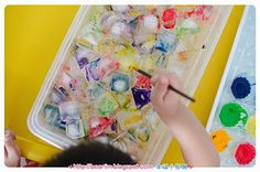 ۰•●❀幸福小熊窝❀●•۰: [tot school] Rainbow theme - Art & craft