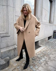 Discover recipes, home ideas, style inspiration and other ideas to try. Look Fashion, Womens Fashion, Fashion Trends, Fashion Outfits, Camel Coat Outfit, Winter Outfits, Casual Outfits, Mode Inspiration, Minimalist Fashion