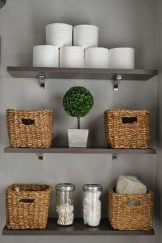 Un #baño bien ordenado siempre dará buena impresión.