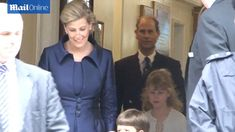 9/15/14. Prince Edward and wife Sophie, Countess of Wessex get in touch with nature in Canada   Mail Online