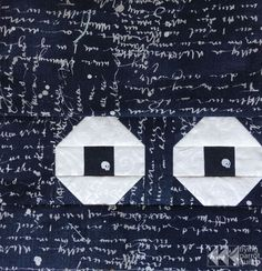 Halloween quilt-along: Eyeball block tutorial |Flying Parrot Quilts
