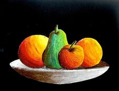 arteascuola: Still life with oil pastels