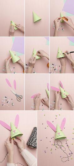 bunny part hat steps