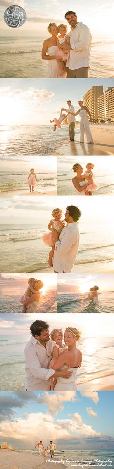 beach family pictures, what to wear for family pictures, family of 3 poses, family pictures ideas