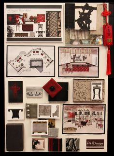 interior design concept boards and theme boards | school/misc