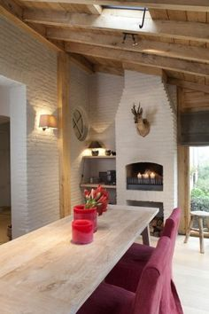 Like the wood storage at bottom and fireplace at a higher elevation