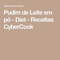 Pudim de Leite em pó - Diet - Receitas CyberCook